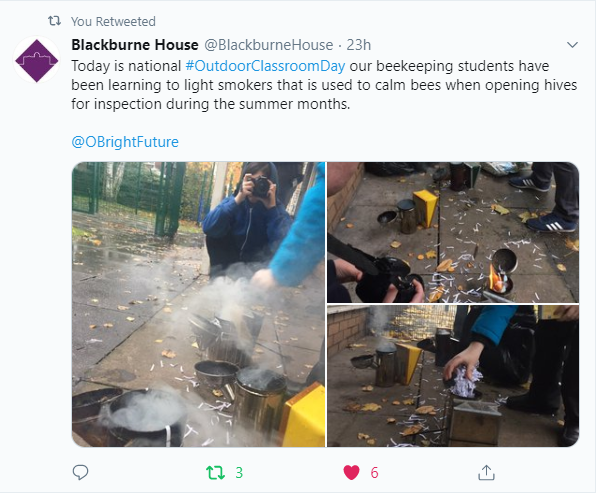 Outdoor Classroom Day Blackburne House