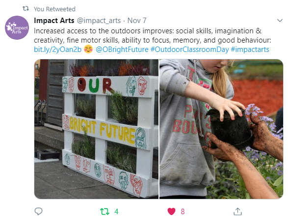 Outdoor Classroom Day Impact Arts
